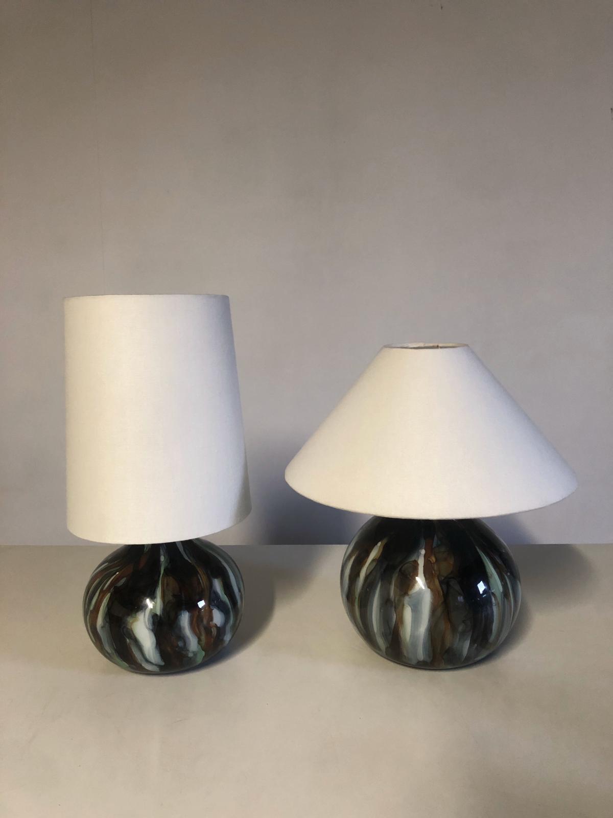lámpara vidrio