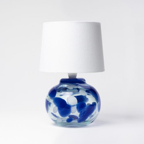 blue dots lamp