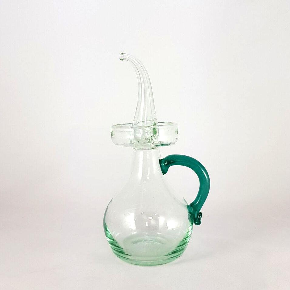 oil bottle green